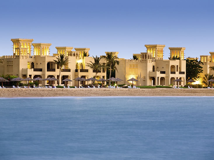Hotel Al Hamra Beach en Golf Resort