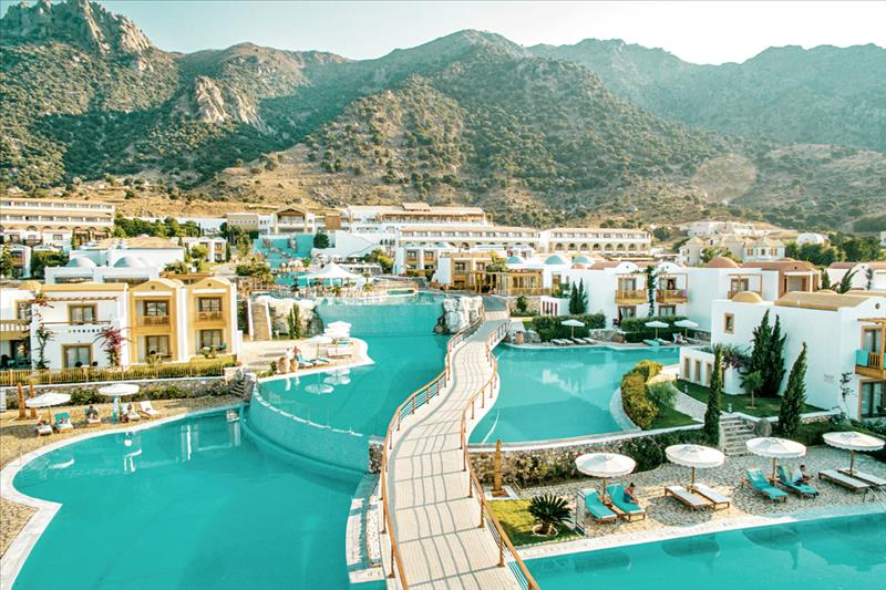 Hotel MITSIS Blue Domes Exclusive Resort en Spa